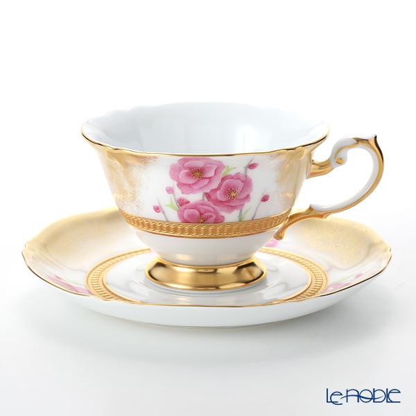 大倉陶園 碗皿暦 70C/E213 カップ&ソーサー 3月・桃の節句