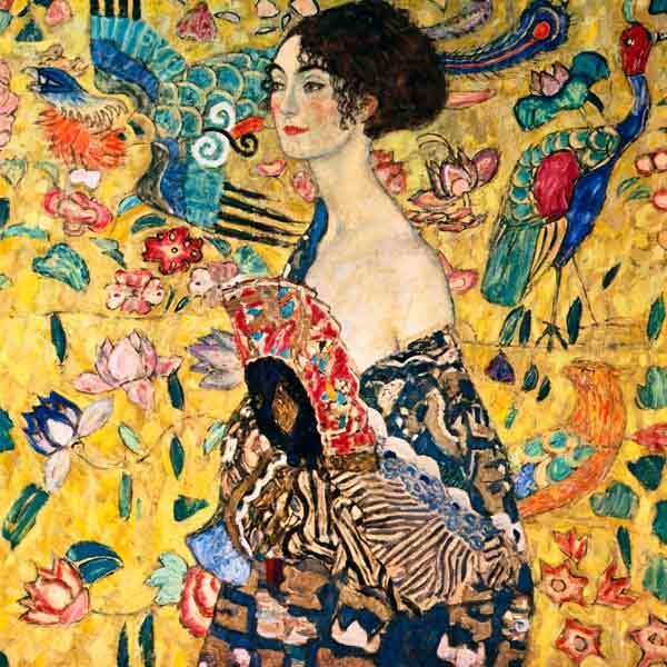 扇子を持つ女性 | Lady with Fan <1917>